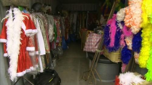 costumes storage unit