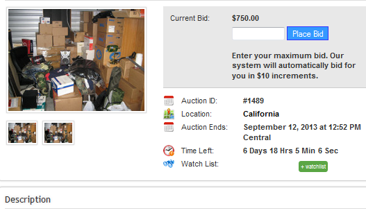 How to Have a Successful Online Storage Auction - Online