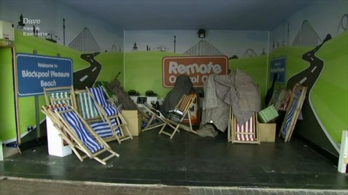 deck chairs Blackpool