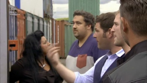 Nat John George Matt Storage Hunters UK