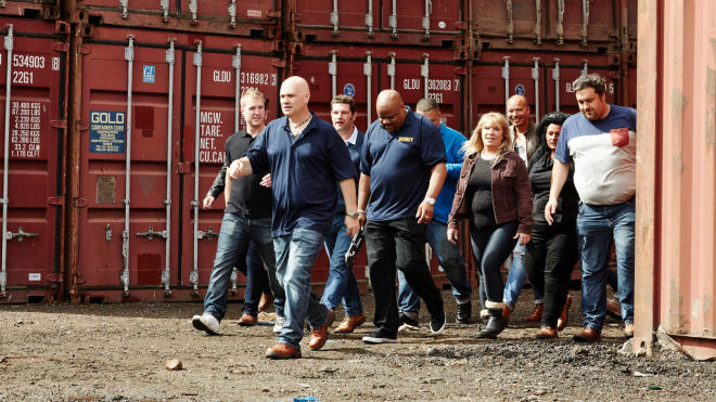 Storage Hunters UK Fake